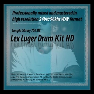 Pay for Lex Luger Drum Kit Samples HD 24bit Sounds