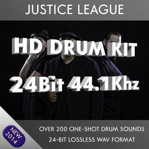justice league drums