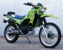 Thumbnail 1984 Kawasaki KLR600 Motorcycle Workshop Repair Service Manual