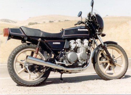 1979 Gpz550 Workshop