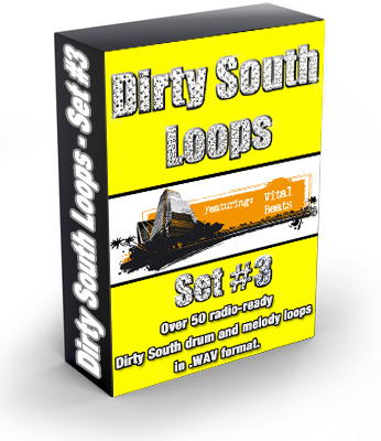 Pay for Dirty South Loops Set 3