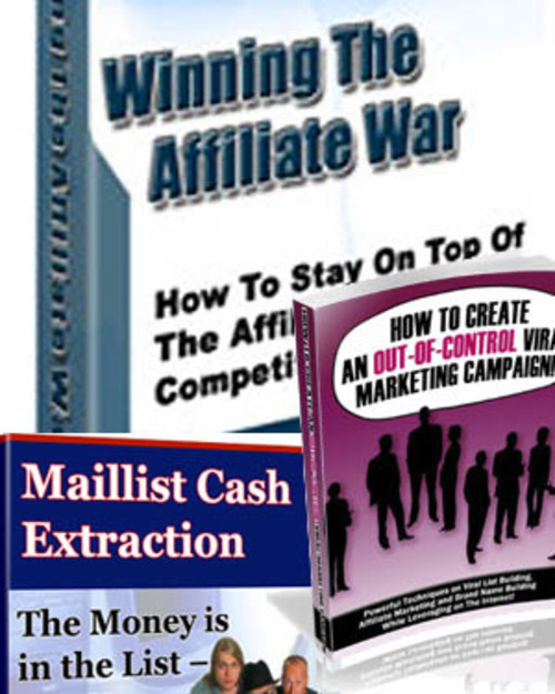 Pay for Winning the Affiliate War, Viral Marketing, Maillist Cash