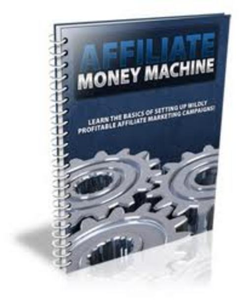 Pay for how to make your own affiliate money machine AAA+++
