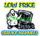 Thumbnail Hitachi 36UX01S 32UX01S 32GX01B 36GX01B Service Manual