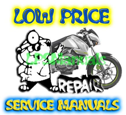 Pay for 1995 - 1999 Suzuki GSF 600 Bandit Service Manual
