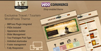 Thumbnail Lost World - Travel, Hotel Woo Commerce WordPress