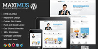 Thumbnail Maximus - Responsive Multi-Purpose Wordpress Theme