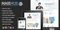 Thumbnail Maximus - Responsive Multi-Purpose Wordpress Theme