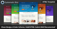 Thumbnail Systematic Bizz - Professional Business HTML