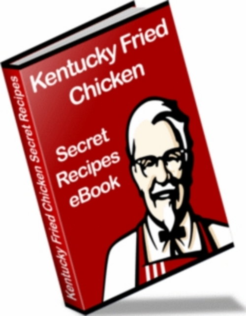 KFC Kentucky Fried Chicken Secret Recipe Ebook Resell Rights