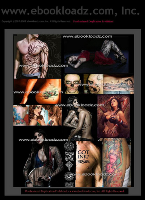 Pay for 7 TOP TATTOO EBOOK COLLECTION DESIGNS FLASH ART + MUCH MORE