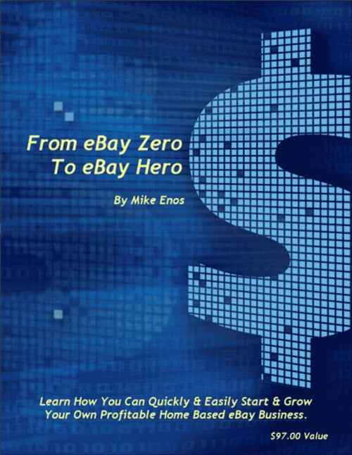 Pay for From eBay Zero To eBay Hero eBook With Resell Rights