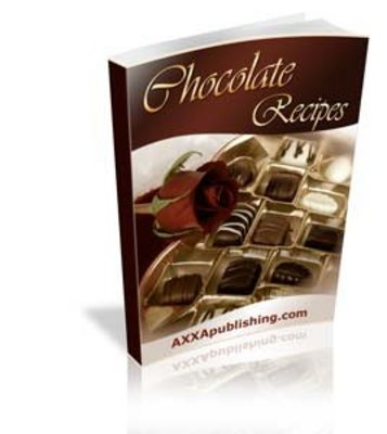 Pay for 600 ULTIMATE CHOCOLATE RECIPES EBOOK + RESELL RIGHTS
