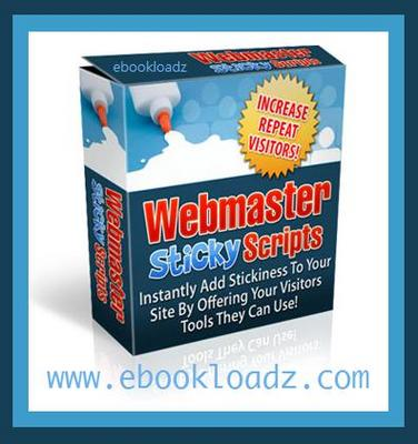 Pay for 12 WebMaster Sticky Tool PHP Scripts Master Resell Rights !!