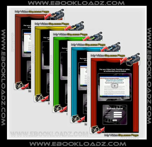 Pay for 20 Video Squeeze Newsletter Templates With Master Resell Rights ! NEW !!