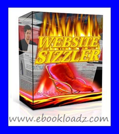 Pay for Website Sizzler Software With Master Resell Rights ! NEW !!