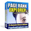 Thumbnail Page Rank Explorer PRO With PLR