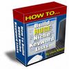 Thumbnail Huge Niche Keyword Lists With PLR