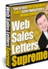Thumbnail Web Sales Letters Supreme With PLR