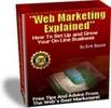 Thumbnail Web Marketing Explained With PLR