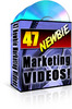 Thumbnail 47 Newbie Marketing Videos With MRR