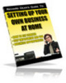 Thumbnail Setting Up Your Own Business At Home With PLR