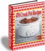 Thumbnail Crock Pot Recipes With PLR