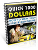 Thumbnail *New* Quick 1000 Dollarsss in 2008 With PLR