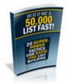 Thumbnail Build Me a 50K List With MRR