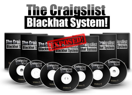 Pay for *New* Craigslist Blackhat System FullPack in 2008 With MRR