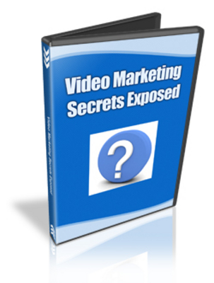 Pay for Video Marketing Secrets Exposed With MRR