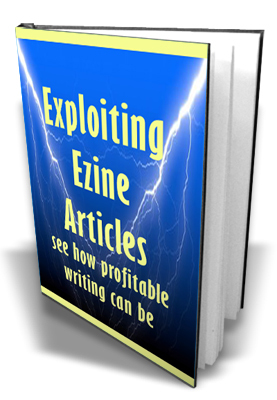 Pay for Exploiting Ezine Articles With MRR