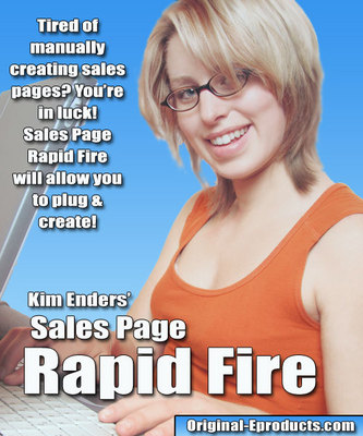 Pay for Sales Page Rapid Fire