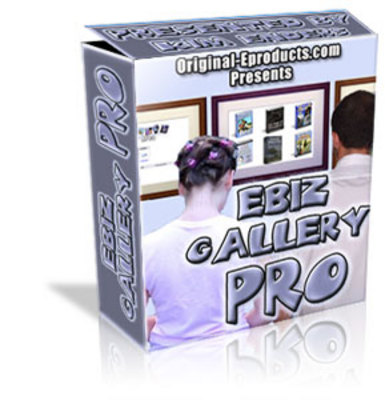 Pay for Ebiz Gallery Pro With PLR