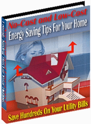 Pay for No Cost and Low Cost Home Energy Saving Tips With PLR