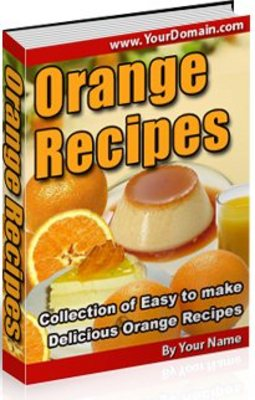 Pay for Orange Recipe With PLR