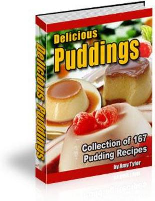 Pay for Collection of 167 Pudding Recipes With PLR