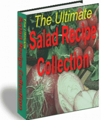Pay for The Ultimate Salad Recipe Collection With MRR