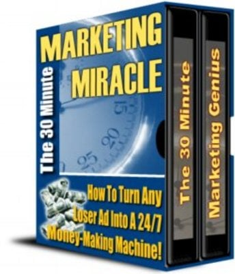 Pay for The 30 Minute Marketing Miracle With MRR