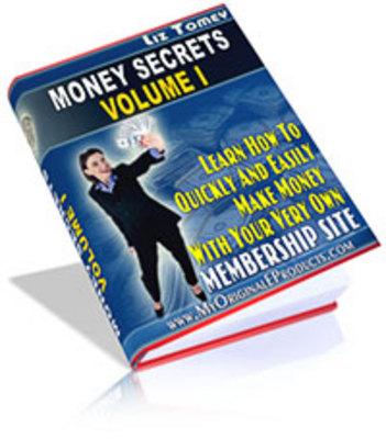 Pay for Money Secrets VolumnI With MRR