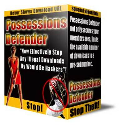 Pay for Possessions Defender With MRR