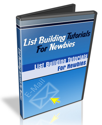 Pay for List Building Tutorials For Newbies FullPack With MRR