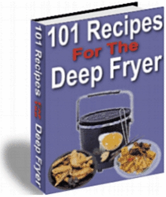 Pay for 101 Recipes For The Deep Fryer With PLR