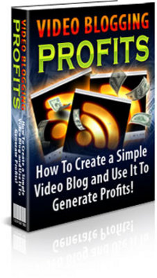 Pay for  *New* Video Blogging for Profits in 2008 With MRR