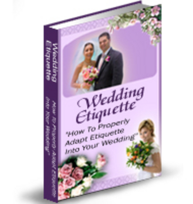 Pay for Wedding Etiquette With PLR