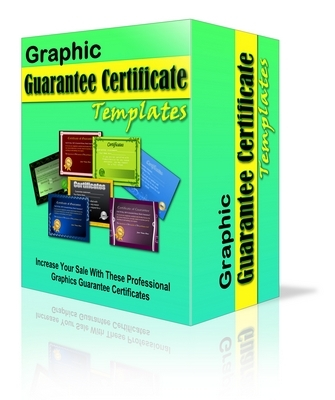 Pay for 15 Graphic Guar Cert Templates