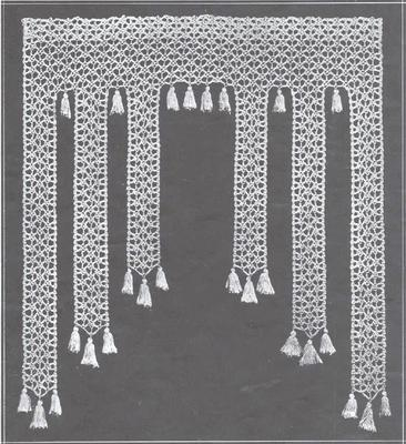 53 free crochet patterns antique vintage filet pattern curtain