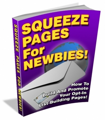 Pay for Squeeze Pages For Newbies