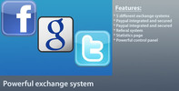 Thumbnail Powerful Exchange System V1.4.1 for Facebook, Google & more