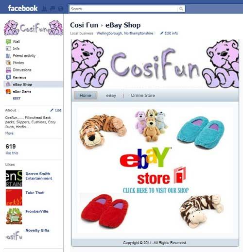 Pay for Facebook Shop Software für Ebay & Amazon Produkte